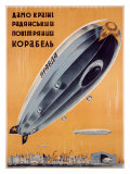 Russian Dirigible Giclee Print