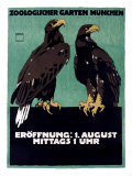 Zoo Giclee Print by Ludwig Hohlwein