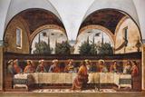 La última cena Fotografía por Domenico Ghirlandaio