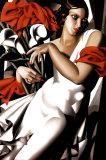 Porträt von Ira Poster von Tamara de Lempicka