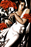 Portrait of Ira Prints by Tamara de Lempicka