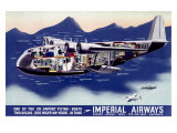 Imperial Airways, Flying Boat Giclee Print