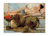 In the Tepidarium, 1881 Art by Sir Lawrence Alma-Tadema
