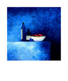 Still Life in Blue I Prints by Anouska Vaskebova