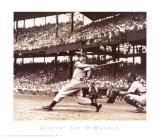 Der große Joe DiMaggio Kunstdruck