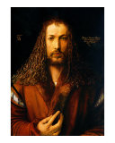 Self Portrait Giclee Print by Albrecht D&#252;rer