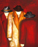Three Wise Man II Prints by Gisela Ueberall