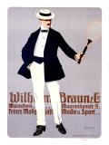 Wilhelm Braun Impression giclée par Carl Moos