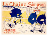 La Chaine Simpson Giclée-tryk