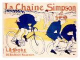 La Chaine Simpson Gicléedruk