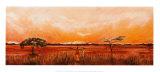 Bhundu Landscape III Prints by Emilie Gerard
