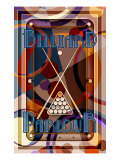 Billiards Giclee Print