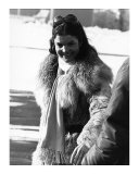 Jacqueline Kennedy Onasis in Snow Prints