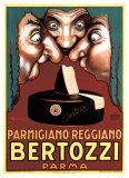 Parmesan Parmigiano Reggiano - Bertozzi Reproduction procédé giclée par Achille Luciano Mauzan