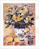 Apples and Lilies Print by Patricia Griggs