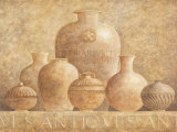 Antique Vases I Posters by G.p. Mepas