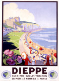 Dieppe Giclee Print by Suzanne Hulot