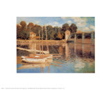 Il Pont d'Argenteuil Prints by Claude Monet