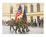 Military Parade Process Reproduction procédé giclée par New Yorkled