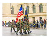 Military Parade Process Lámina giclée por New Yorkled