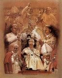 Pope John Paul II Plakater af Stephen Doig