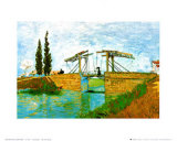 The Langlois Drawbridge Poster von Vincent van Gogh