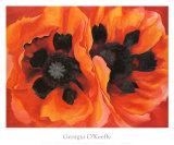Georgia O'Keeffe - Orientální vlčí máky, 1928 (Oriental Poppies, 1928) Plakát