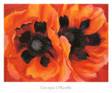 Oriental Poppies, 1928 Poster by Georgia O'Keeffe
