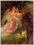 Heilige Schutzengel Posters