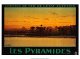 Pyramides Art by M. Tamplough
