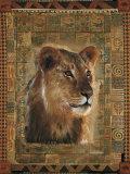 Lion Láminas por Rob Hefferan