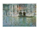 II Palazzo da Mula a Venezia Print by Claude Monet
