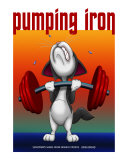 Pumping Iron Photographic Print by Fred May
