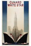 Cunard Posters af A. Roquin