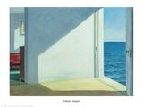海辺の部屋, 1951 ポスター : エドワード・ホッパー