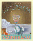 Classic Cosmopolitan Poster by Robert Downs