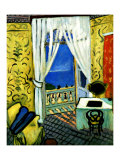 Still Life with Violin Case Reproduction procédé giclée par Henri Matisse