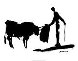 La corrida II Poster par Pablo Picasso