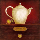 Hot Chocolate Kettle Prints by Eric Barjot
