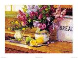 Lilacs & Lemons Poster by Deborah Chabrian