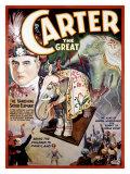 Carter the Great, The Vanishing Sacred Elephant Giclee Print
