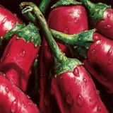 Hot Peppers Prints by Alma&#39;ch 