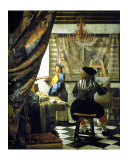 Allegory of Painting Giclee Print by Jan Vermeer