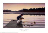 Sharing a Moment Prints by Mary G. Smith