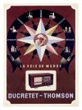 Ducretet-Thomson French Radio Giclee Print