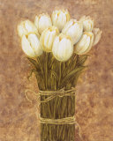 Wrapped Tulips Poster by Herve Libaud