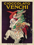 Cioccolato Venchi Plakaty autor Leonetto Cappiello