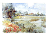 Landschappen III Print by Coraline Boomsma