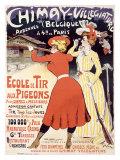 Chimay, Villegiature Giclee Print by Jules-Alexandre Grün