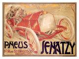 Pneus Jenatzy Giclee Print by Georges Gaudy